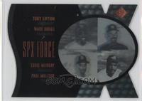 Tony Gwynn, Wade Boggs, Eddie Murray, Paul Molitor /500