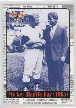 1997 Score Board Mickey Mantle Shoe Box Collection - [Base] #71 - Mickey Mantle, Robert F. Kennedy