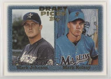 1997 Topps - [Base] #483 - Mark Johnson, Mark Kotsay [EXtoNM]