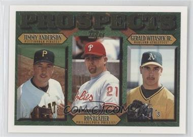 1997 Topps Base 492 Jimmy Anderson Ron Blazier Gerald