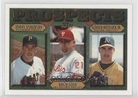 Jimmy Anderson, Ron Blazier, Gerald Witasick, Jr.