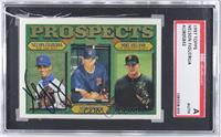 Nelson Figueroa, Mark Redman, Mike Villano [SGC AUTHENTIC AUTO]