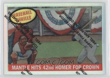 1997 Topps - Mickey Mantle Reprints - Finest Refractors #26 - Mickey Mantle (1959 Topps)