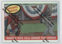 Mickey Mantle (1959 Topps Baseball Thrills)