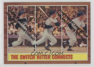 1997 Topps - Mickey Mantle Reprints - Finest Refractors #34 - Mickey Mantle (1962 Topps)