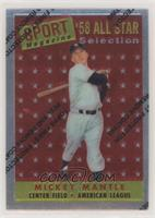 Mickey Mantle (1958 Topps All-Star)