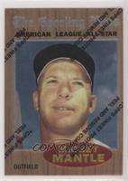Mickey Mantle (1962 Topps All-Star)