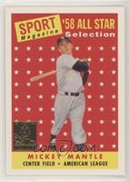Mickey Mantle (1958 Topps All-Str) [EXtoNM]