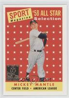 Mickey Mantle (1958 Topps All-Str)