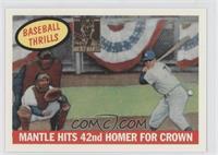 Mickey Mantle (1959 Topps Baseball Thrills)