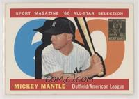Mickey Mantle (1960 Topps All-Star) [Noted]