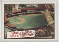 Mickey Mantle (1961 Topps Baseball Thrills)