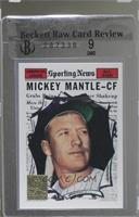 Mickey Mantle (1961 Topps) [BRCR 9]