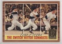Mickey Mantle (1962 Topps In Action) [EXtoNM]