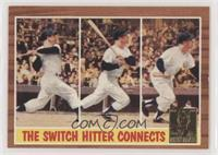 Mickey Mantle (1962 Topps In Action)