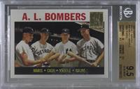 Roger Maris, Norm Cash, Mickey Mantle, Al Kaline (1964 Topps) [BGS 9.5&nbs…