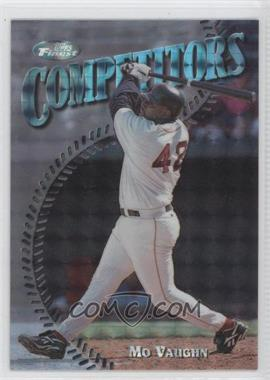 1997 Topps Finest - [Base] - Embossed Refractor #311 - Mo Vaughn