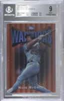 Mark McGwire [BGS 9 MINT]