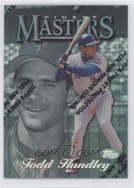 1997 Topps Finest - [Base] - Refractor #324 - Todd Hundley