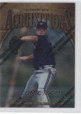 1997 Topps Finest - [Base] #344 - Roger Clemens