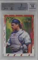 Mike Piazza [BGS/JSA Certified Auto]