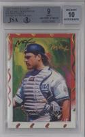 Mike Piazza [JSA Certified Encased by BGS]