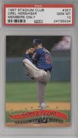 Orel Hershiser [PSA 10 GEM MT]