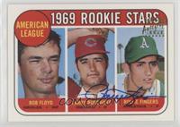 Bobby Floyd, Larry Burchart, Rollie Fingers