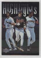 Barry Bonds, Brady Anderson, Gary Sheffield