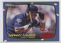 Manny Ramirez (August 12-14)