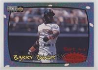 Barry Bonds (Sept. 4-7)