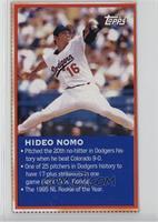 Topps - Hideo Nomo