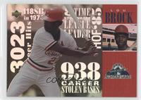 Lou Brock (Upper Deck)