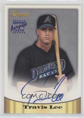 1998 Bowman - Certified Autograph Issue - Blue Foil #48 - Travis Lee
