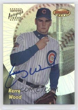 1998 Bowman's Best - Autograph - Refractor #125 - Kerry Wood