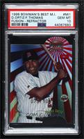 Frank Thomas, David Ortiz [PSA 10 GEM MT] #/100
