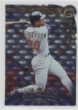 1998 Donruss - [Base] - Press Proof Gold #118 - Rickey Henderson /500