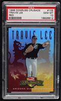 Travis Lee [PSA 10 GEM MT] #/25