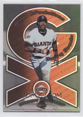 1998 Donruss Preferred - Great X-Pectations #24 - Barry Bonds, Vladimir Guerrero /2700