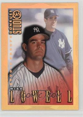1998 Donruss Studio - [Base] - Studio Proofs Gold #104 - Mike Lowell /300