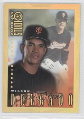 1998 Donruss Studio - [Base] - Studio Proofs Gold #171 - Wilson Delgado /300