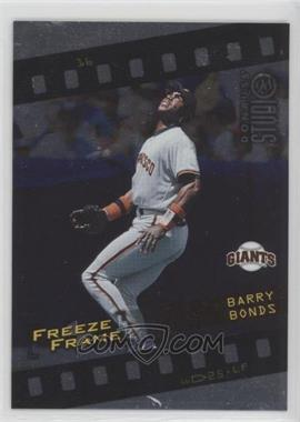 1998 Donruss Studio - Freeze Frame #16 - Barry Bonds /4000