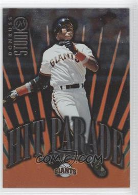 1998 Donruss Studio - Hit Parade #16 - Barry Bonds /5000