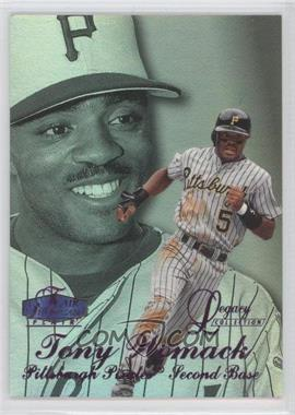 1998 Flair Showcase - Row 3 - Legacy Collection Masterpiece #110 - Tony Womack /1