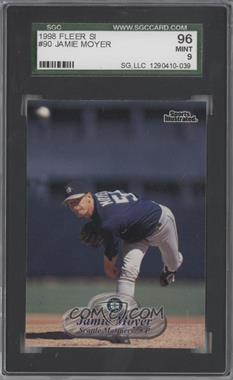 1998 Fleer Sports Illustrated - [Base] #90 - Jamie Moyer [SGC 96]