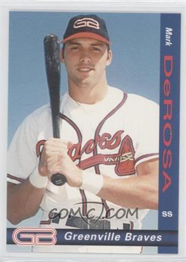 1998 Grandstand Greenville Braves - [Base] #5 - Mark DeRosa