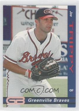 1998 Grandstand Greenville Braves - [Base] #9 - Joe Trippy