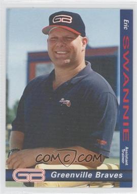 1998 Grandstand Greenville Braves - [Base] #N/A - Erick Swanson
