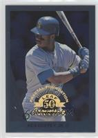 8f7f454138 Ken Griffey Jr. Seattle Mariners Serial Numbered Baseball Cards ...
