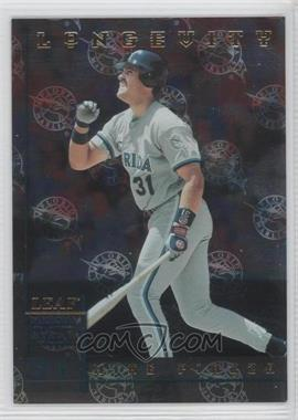1998 Leaf Rookies & Stars - [Base] - Longevity #312 - Mike Piazza /50
